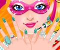 Super Barbie's Manicure