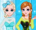 Frozen Sisters Back To School Shopping