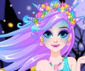 Elsa Halloween Mermaid Makeover