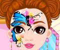 Fashion Doll Facial Painting