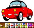 Cartoon Cars Coloring Game