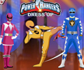 Vestir os Power Rangers