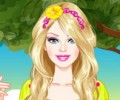 Barbie Enchanted Princess Dress Up