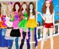 Barbie Summer Dress Up
