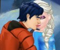Elsa And Ken Kissing