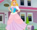 Princess Barbie House Makeover