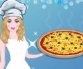 Barbie Cooking Sicilian Pizza
