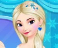 Elsa's Frozen Makeup