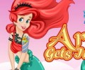 Ariel Gets Inked