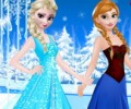 Elsa and Anna Party Dresses