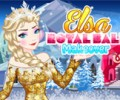 Elsa Royal ball Makeover