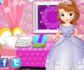 Little Princess Sofia Washing Clothes