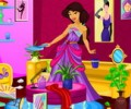 Princess Jasmine Living Room Cleaning