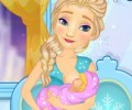 Elsa Breast Feed