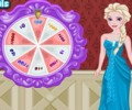Elsa's Lucky Wheel Shopping