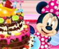 Minnie Mouse Chocolate Cake